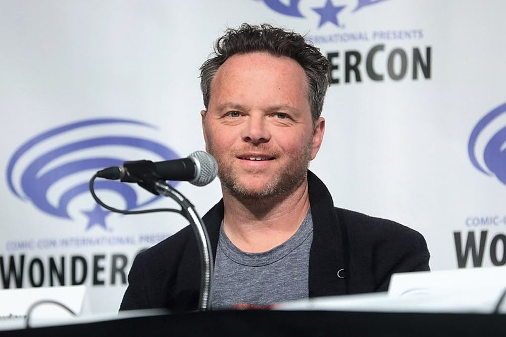 "Noah Hawley, showrunner of FX's ""Fargo,"" speaking at ComicCon 2019 panel for his other show 'Legion'"