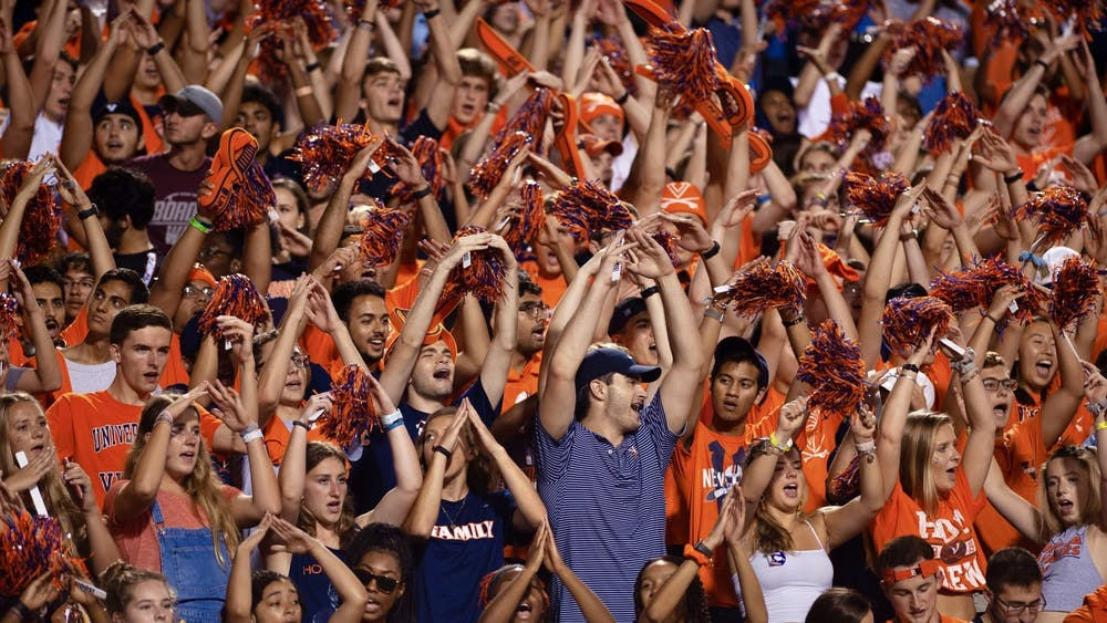 Virginia and Virginia Tech fans experience vastly different football gameday traditions.