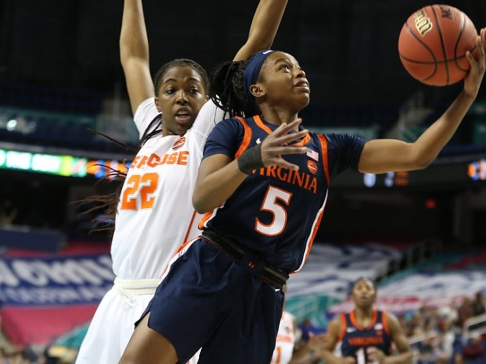 Sophomore guard Khyasia Caldwell's emergence as a scoring option has added another dimension to the Virginia offense.