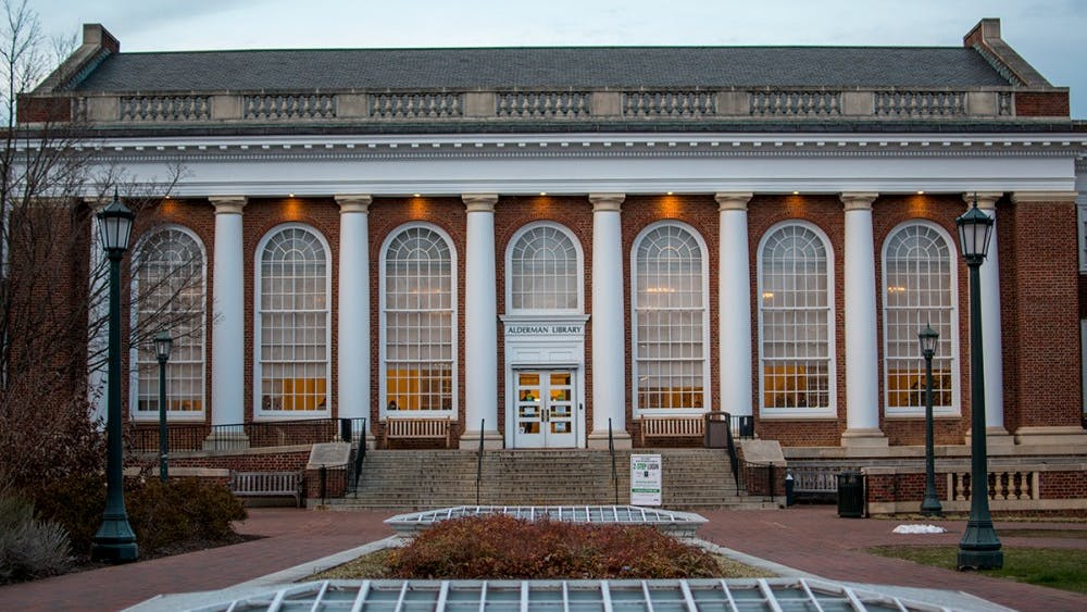 The University plans to undertake a massive renovation of Alderman Library beginning in 2020,.