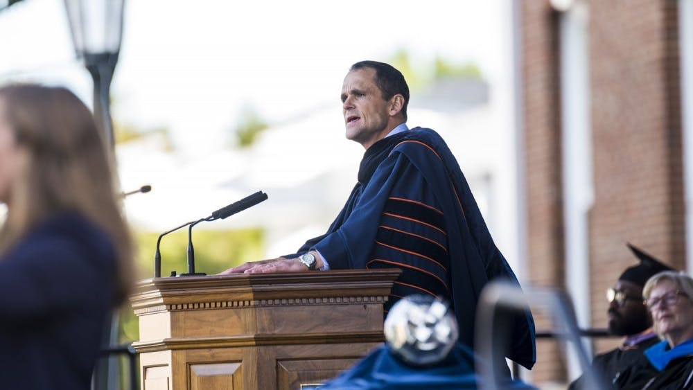During his inaugural address on Oct. 19, University President Jim Ryan announced that low- and middle-income students will be able to attend U.Va. tuition-free.