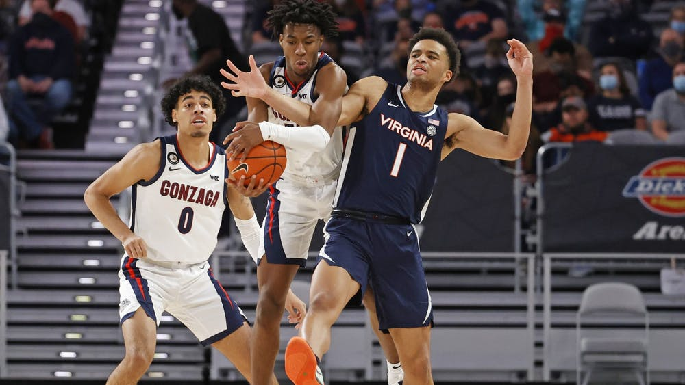 Freshman guard Jabri Abdur-Rahim and the Cavaliers struggled defensively against the Bulldogs, allowing them to shoot over 60 percent from the field.