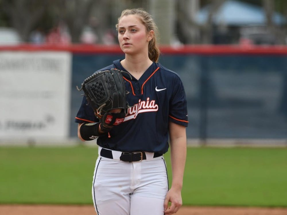 Freshman pitcher Clare Zureich was outstanding for the Cavaliers on the mound.