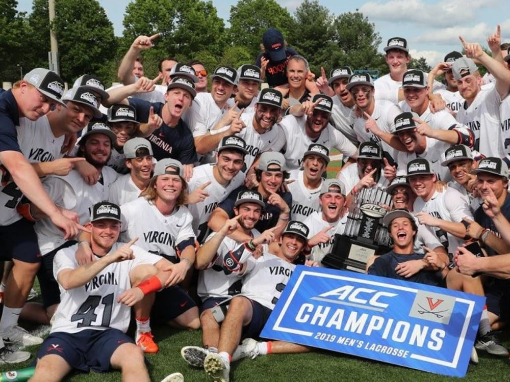 The Virginia men's lacrosse team won their 18th ACC title and first since 2010 after beating Notre Dame 10-4 Saturday afternoon.