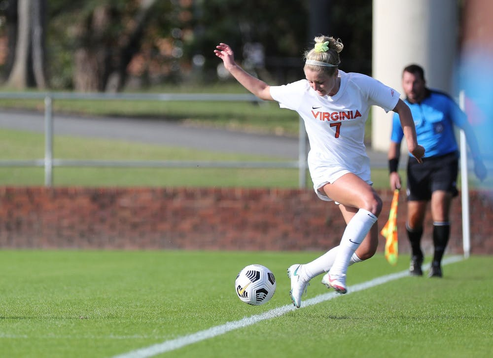 <p>Junior forward Alexa Spaanstra notched her 10th goal of the season, adding two to her total against Brigham Young.&nbsp;</p>