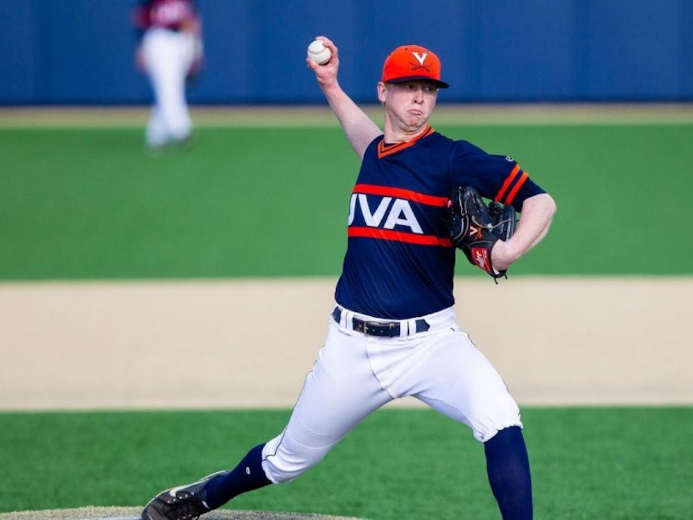 Sophomore right-hander Kyle Whitten earned the save in both games of Saturday's doubleheader.
