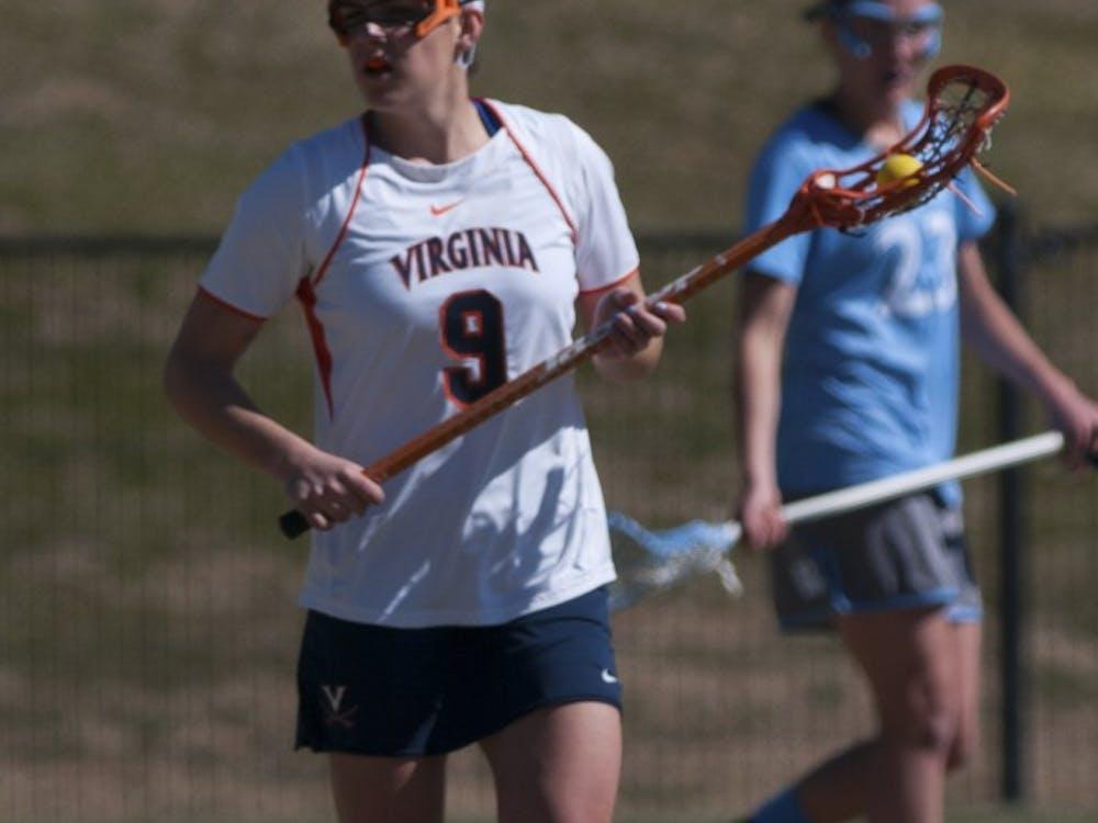 Senior attacker Liza Blue scored a career-high 5 goals in Virginia's 19-8 win over Old Dominion