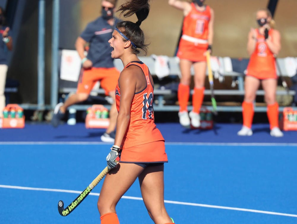<p>In the first game of the ACC Tournament, Virginia broke its four game losing streak and put on an impressive performance — beating Wake Forest 2-1&nbsp;</p>
