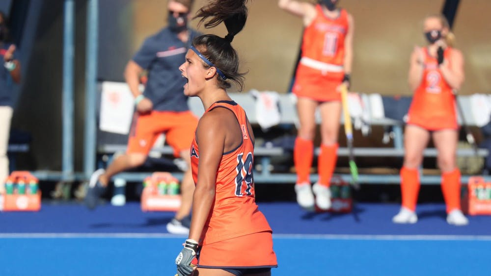 In the first game of the ACC Tournament, Virginia broke its four game losing streak and put on an impressive performance — beating Wake Forest 2-1