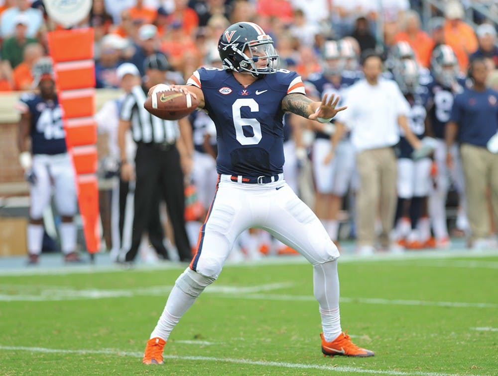 <p>Although at times impressive, junior quarterback Kurt Benkert and the Cavalier offense largely struggled Saturday against Richmond. The defense was also unimpressive in the&nbsp;37-20 loss.</p>