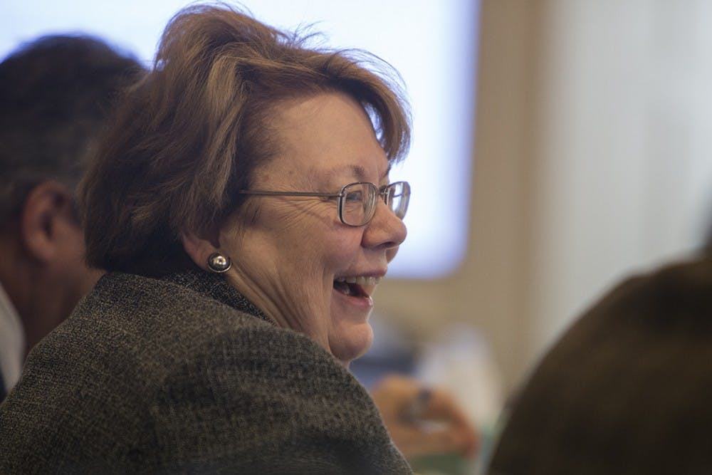 <p>University President Teresa Sullivan's updates discussed the University's upcoming accreditation review later in March.</p>