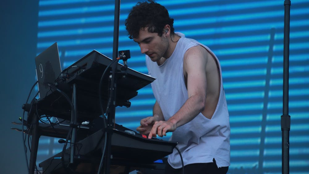 Nicolas Jaar — also known as Against All Logic — is a Chilean-American artist and composer.