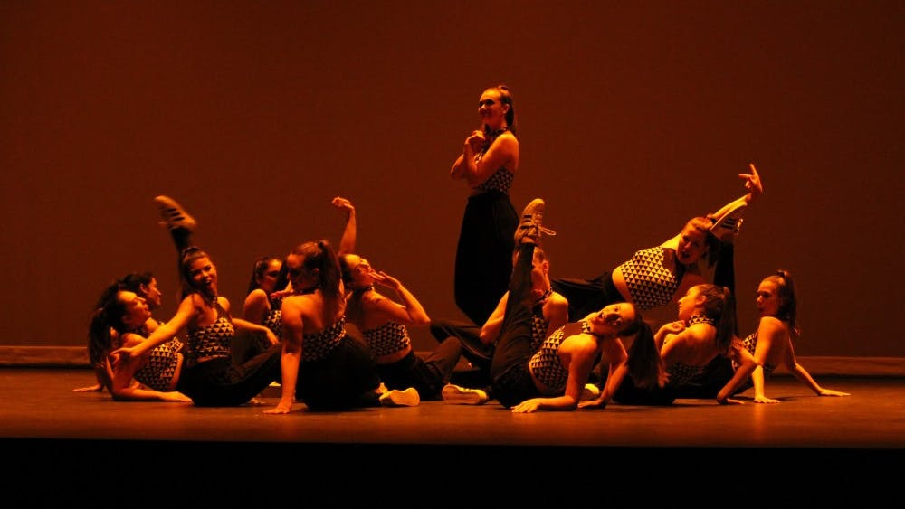The University Dance Club had their annual spring showcase at The Paramount Theater.