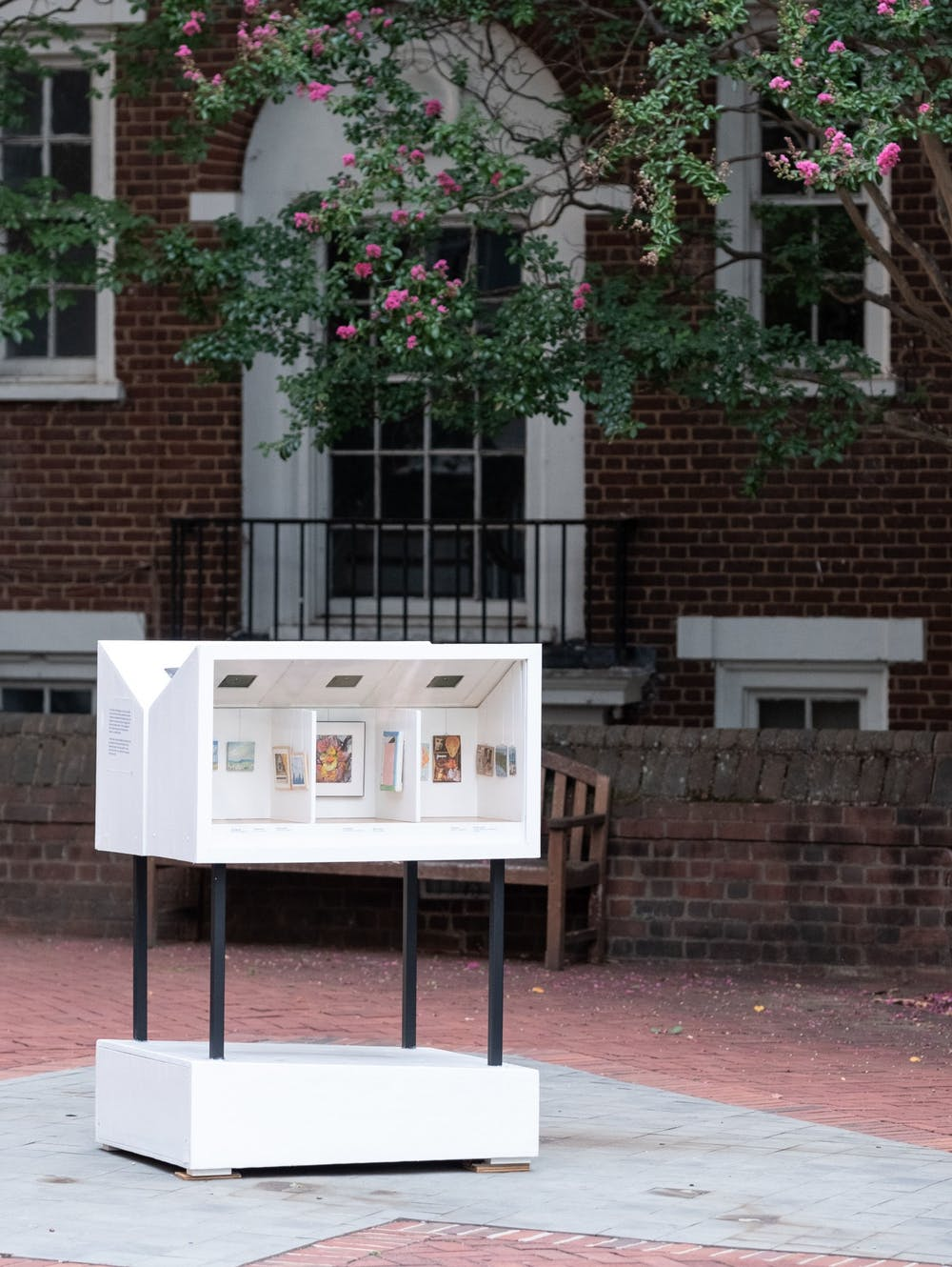 Both the Little Museum and the Museum Store can be found outside on the Cornell Plaza 24 hours per day.