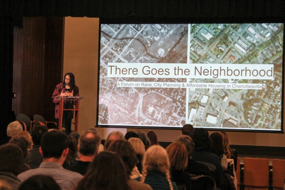 <p>The forum kicked off with a series of presentations highlighting research on the University and city's complicated and often hidden history of race and city planning.</p>