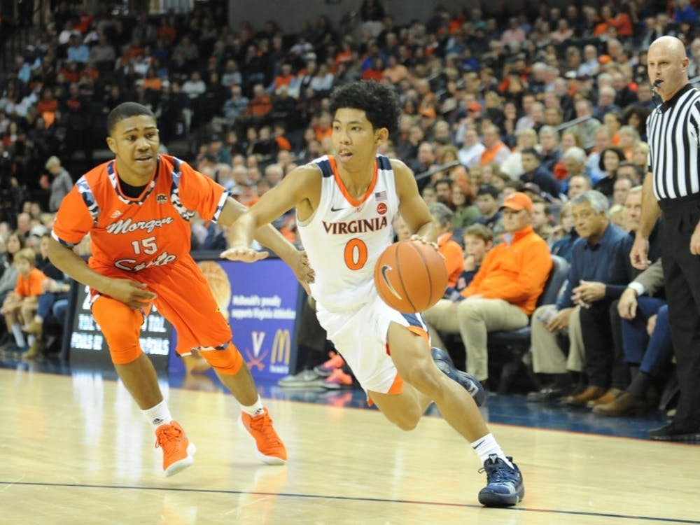Freshman guard Kihei Clark is averaging 25.8 minutes per game this year, defying expectations.