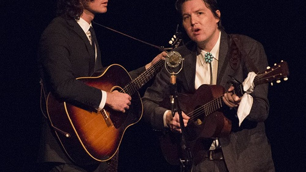 The Milk Carton Kids wowed the crowd with their onstage energy at the Jefferson.