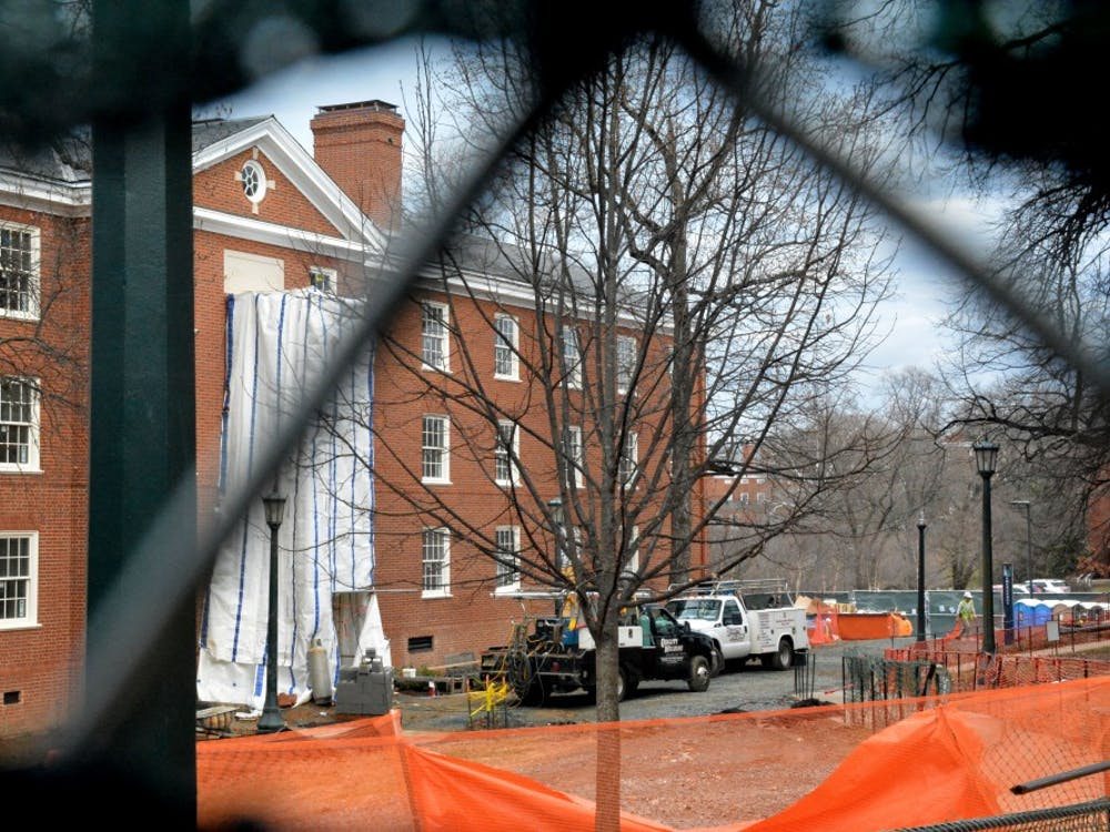 The Castle's makeover comes in a multi-part project to renovate several dorms on McCormick Road.