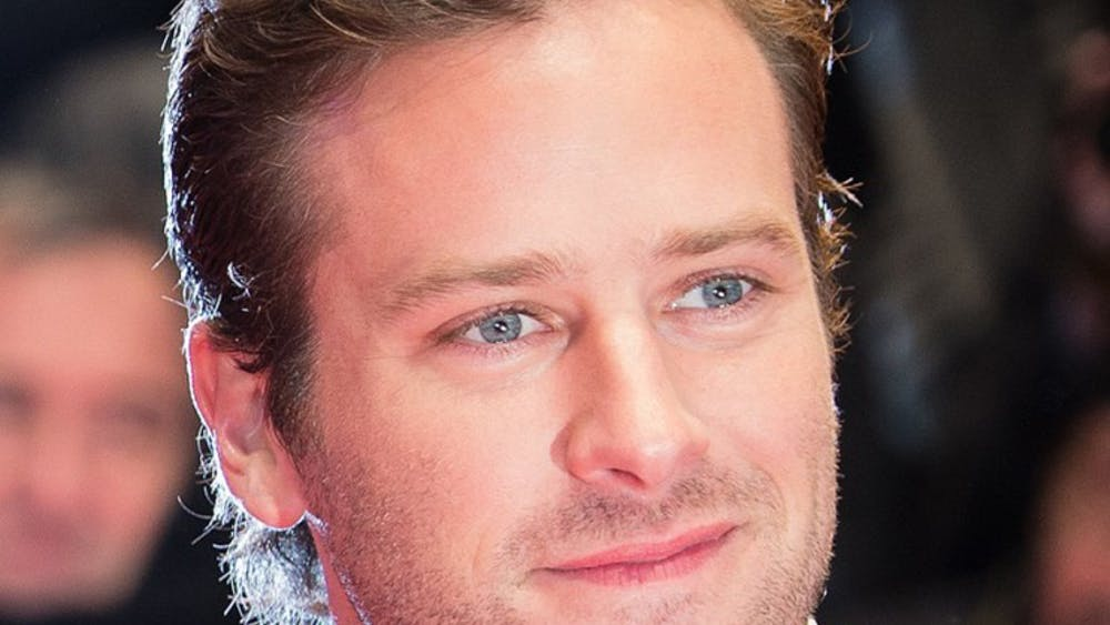 Armie Hammer was one of the more recognizable actors in the Manhattan Film Festival, which showed at the Paramount.
