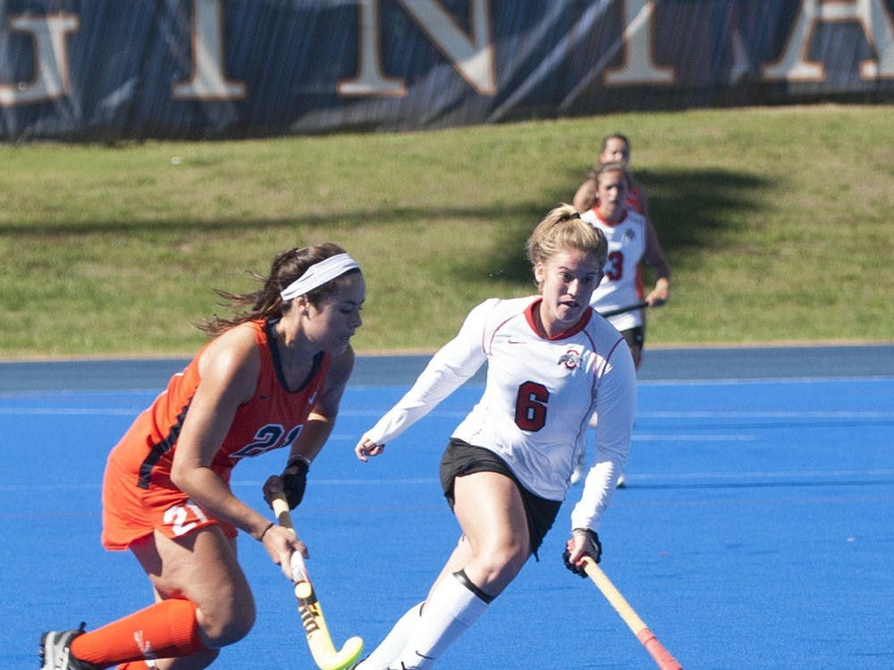 Sophomore striker Riley Tata and the Virginia field hockey team will try to pick up wins 11 and 12 this weekend, when the No. 8 Cavaliers travel to Richmond for a Friday-evening contest and welcome No. 13 Wake Forest for a Sunday matinee.