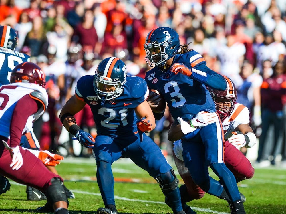 Last week against Virginia Tech, Perkins contributed 475 of Virginia's total 492 yards and three of the team's five touchdowns.