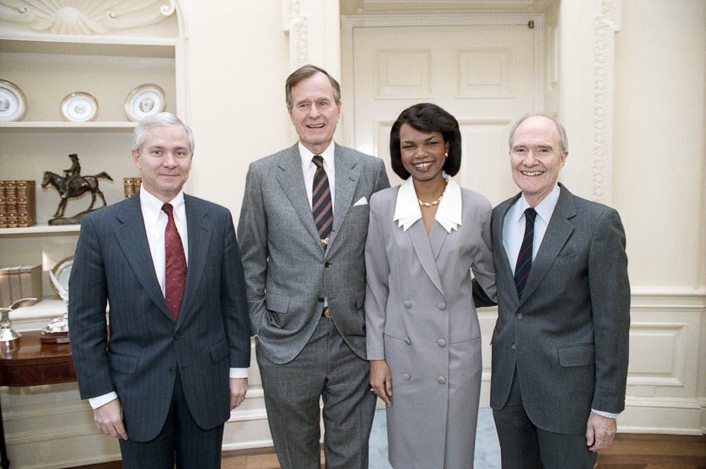 """<p>""""The Art of Statecraft: The Bush 41 Team"""" focuses on international policy during the presidency of George H.W. Bush.</p>"""