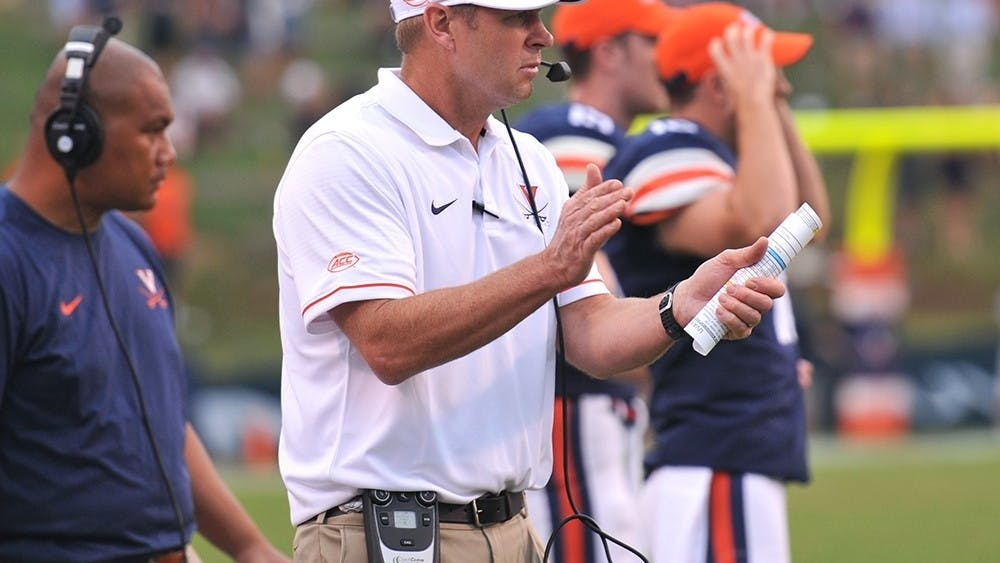 Coach Bronco Mendenhall established the New Standard of excellence for Virginia football.