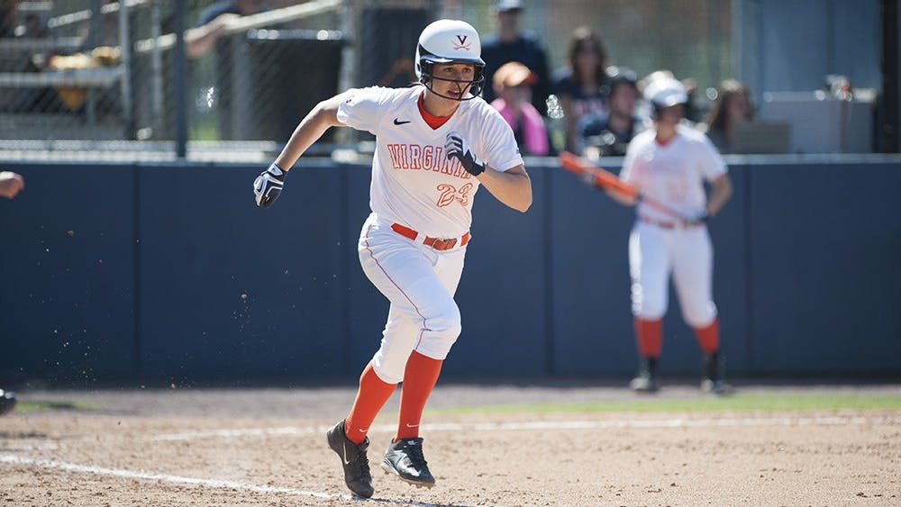 Senior left fielder Megan Harris leads Virginia with five triples this season, but she and the Cavaliers struggled to score against NC State, putting up just three runs in three games.