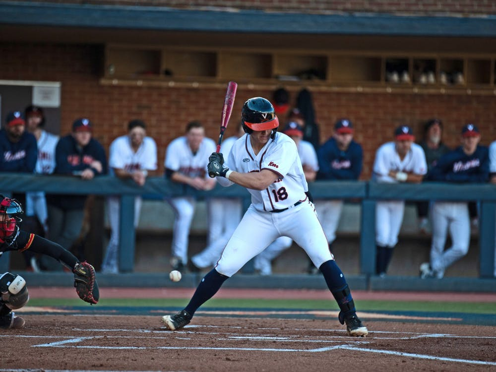 Zack Gelof helped the Cavaliers take a lead in the second inning of the game against William and Mary.