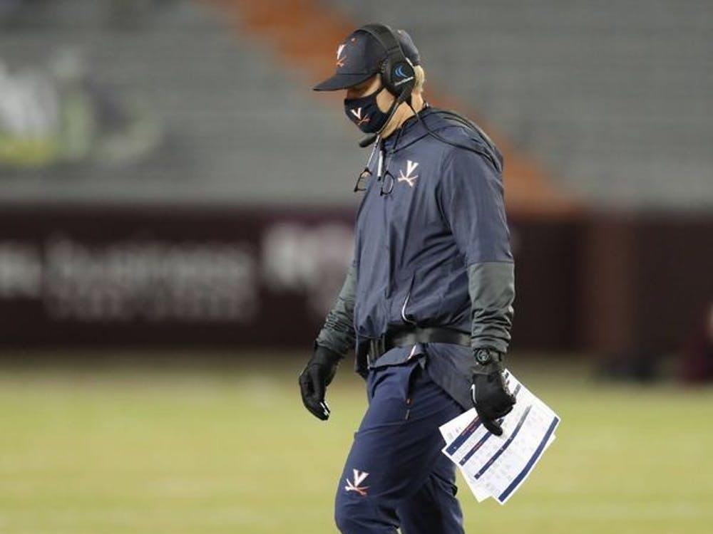 With his most recent loss to the Hokies, football Coach Bronco Mendenhall is now 1-4 against Virginia Tech since being hired at Virginia.