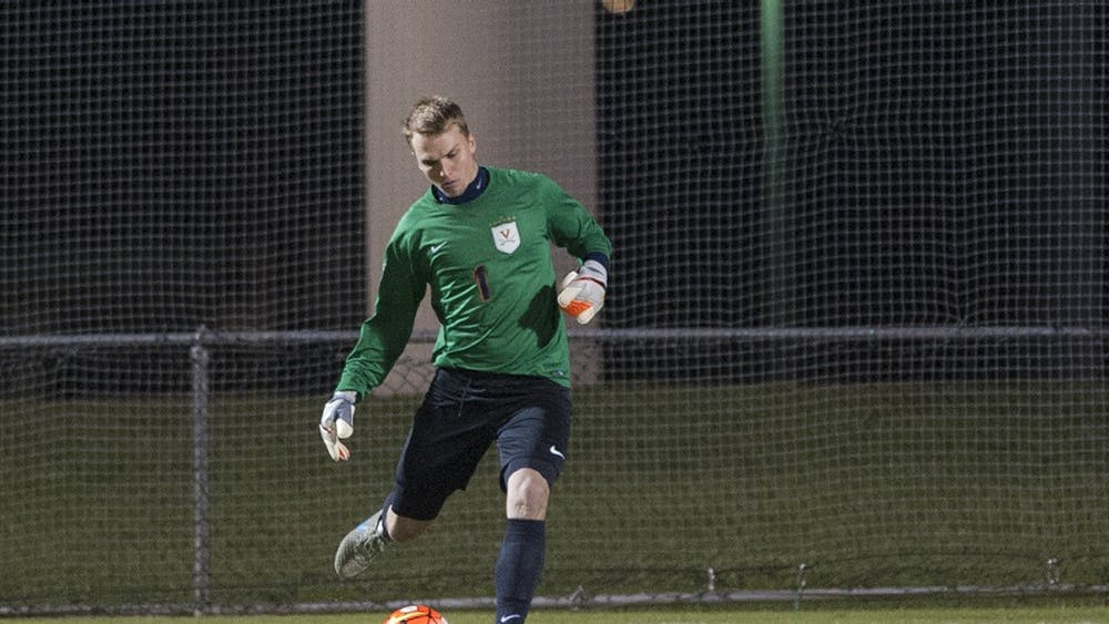 Sophomore goalkeeper Jeff Caldwell had a career-high seven saves against Notre Dame.