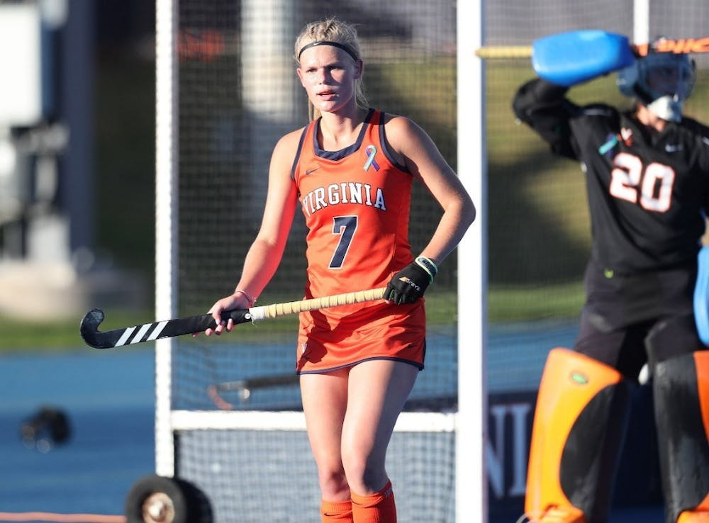<p>Freshman back Cato Geusgens had a multi-goal performance Friday, scoring in each half against Wake Forest.&nbsp;</p>