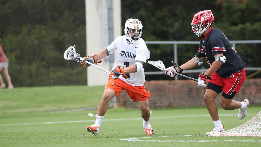Redshirt freshman attackman Connor Shellenberger had a hat trick against the Utes.