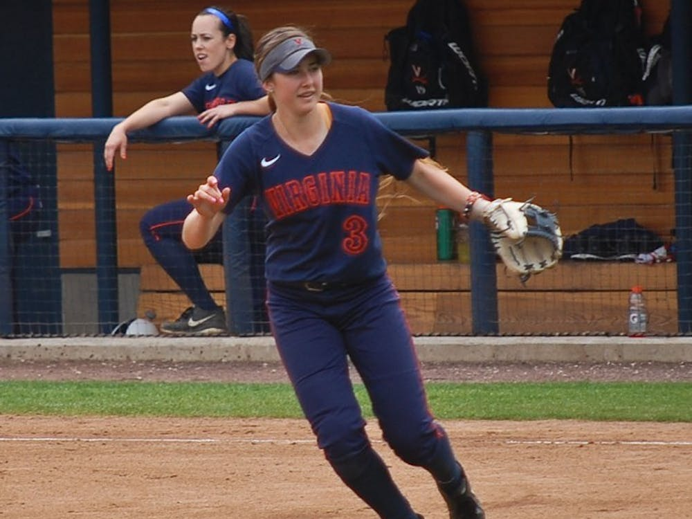 Sophomore second baseman Madison Labshereis keeping a positive attitude despite Virginia's early struggles. She is also crushing the softball, with four home runs and a team-best .611 slugging percentage.