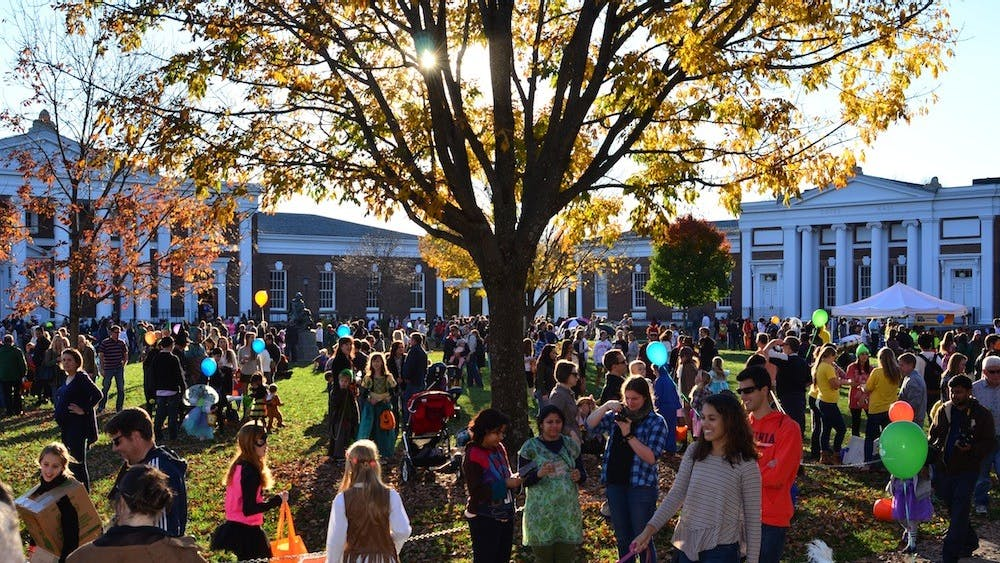 Third Year Council held the University's first 'Cultures are not Costumes' initiative during Trick-or-Treating on the Lawn.