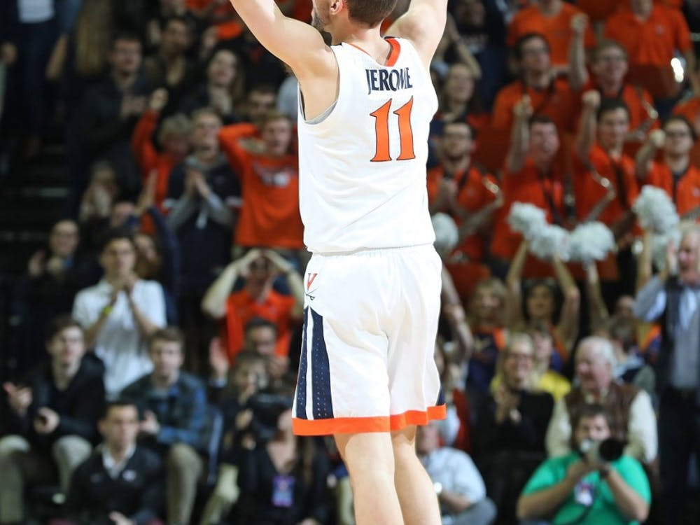 Junior guard Ty Jerome was the leading scorer for Virginia with 24 points Saturday afternoon.