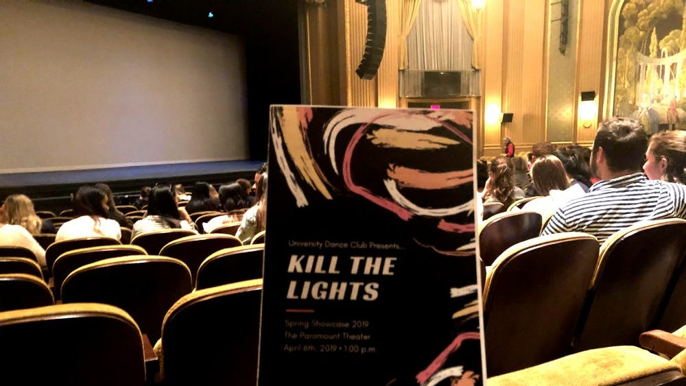 "The University Dance Club held their ""Kill the Lights"" showcase at the Paramount Theater."