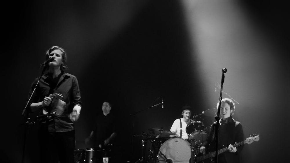 The Lumineers performing in London in 2016.
