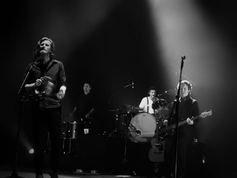 The Lumineers performing in London in 2016.