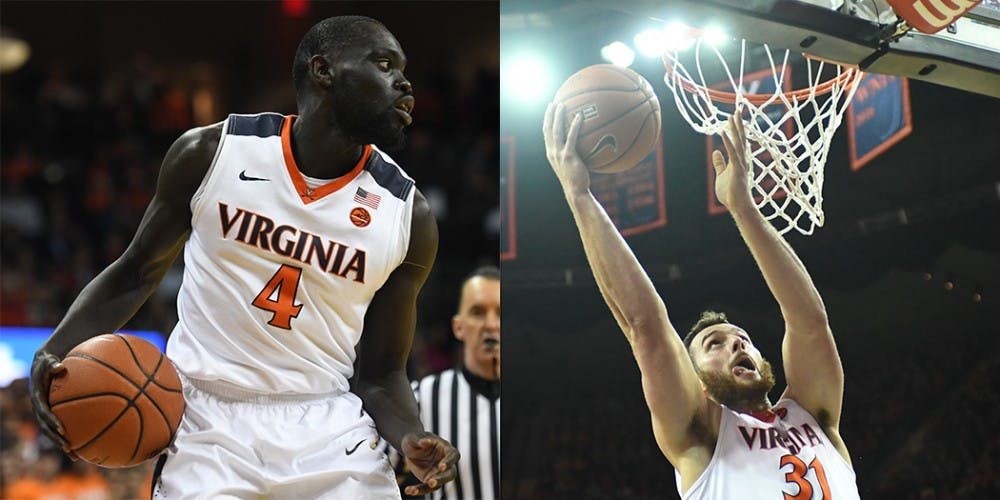 <p>Virginia basketball announced that both junior guard Marial Shayok and sophomore forward Jarred Reuter plan to transfer from Virginia this offseason.</p>