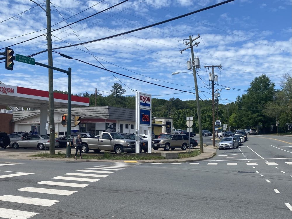 According to GasBuddy.com, 52 percent of gas stations across Virginia are out of fuel.
