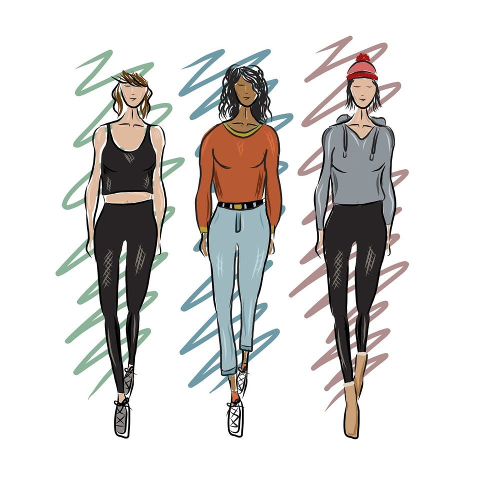 <p>The 2010s saw new trends like athleisure and a resurgence of classics like oversized jeans.</p>
