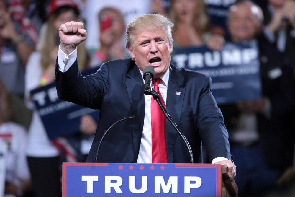 <p>President Donald Trump's proposed 2020 budget, which aims to decrease education spending by over 10 percent</p>