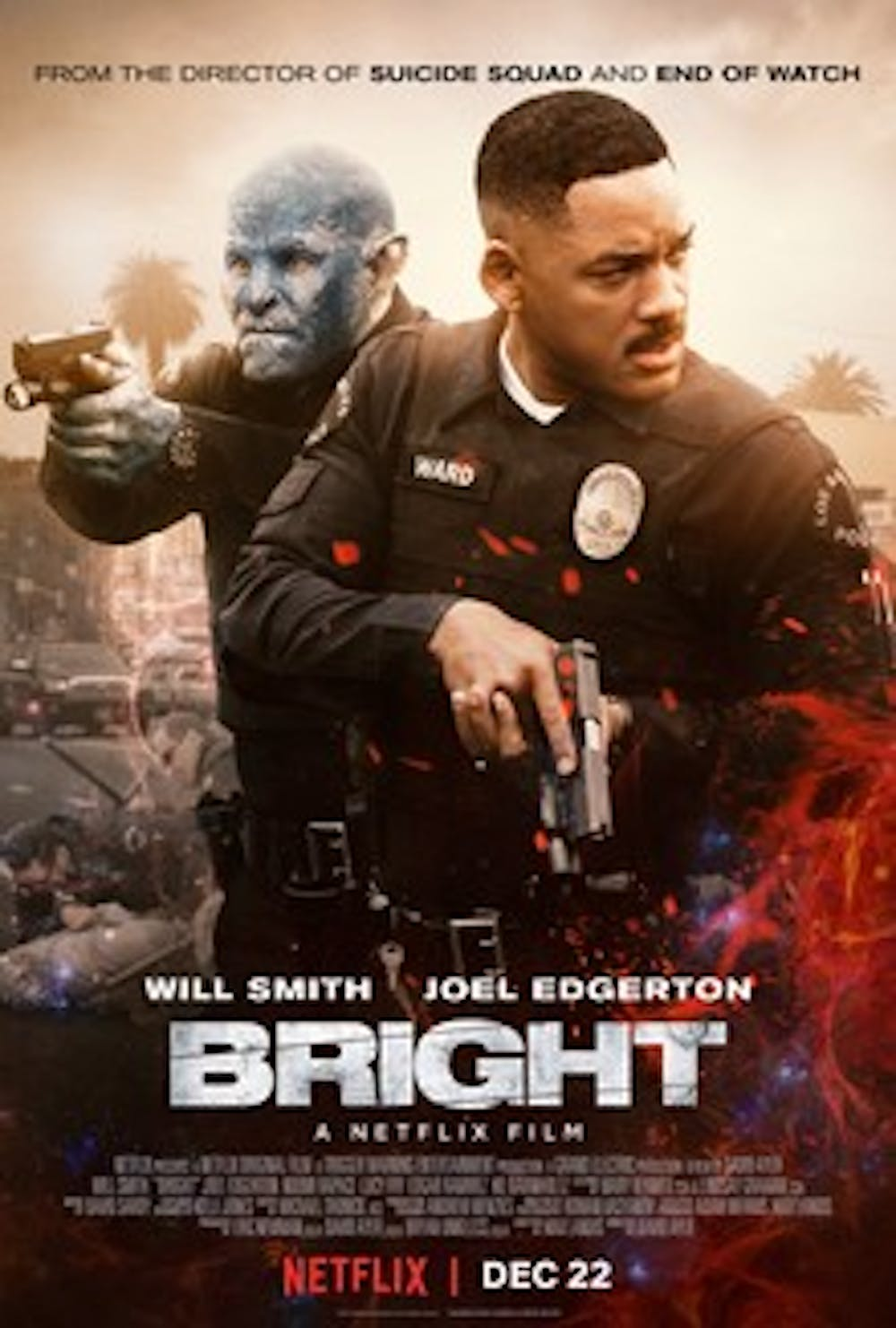 """<p>For Netflix, which produced """"Bright"""", the film represents the company's first significant attempt at releasing a """"big budget"""" project — 90 million dollars — as well as Netflix's first attempt at competing with the larger production houses in Hollywood.</p>"""