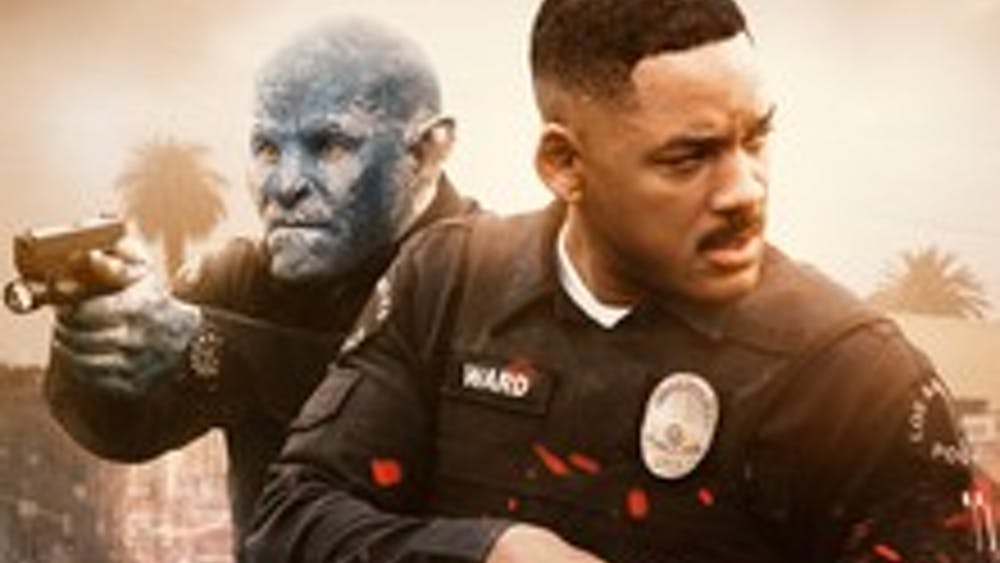 """For Netflix, which produced """"Bright"""", the film represents the company's first significant attempt at releasing a """"big budget"""" project — 90 million dollars — as well as Netflix's first attempt at competing with the larger production houses in Hollywood."""