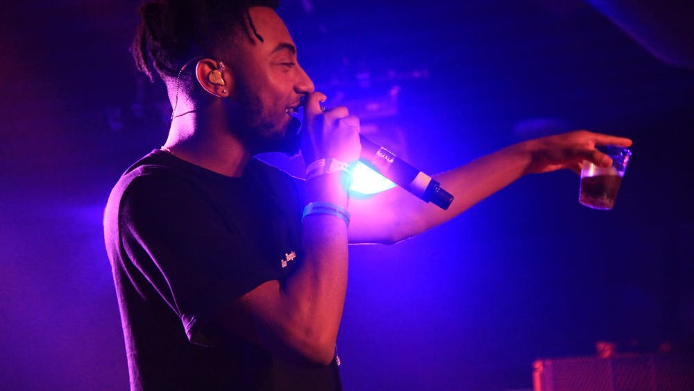 "Aminé, who dropped his sophomore album ""Limbo"" August 7, performs at the SXSW YouTube Party in 2017."