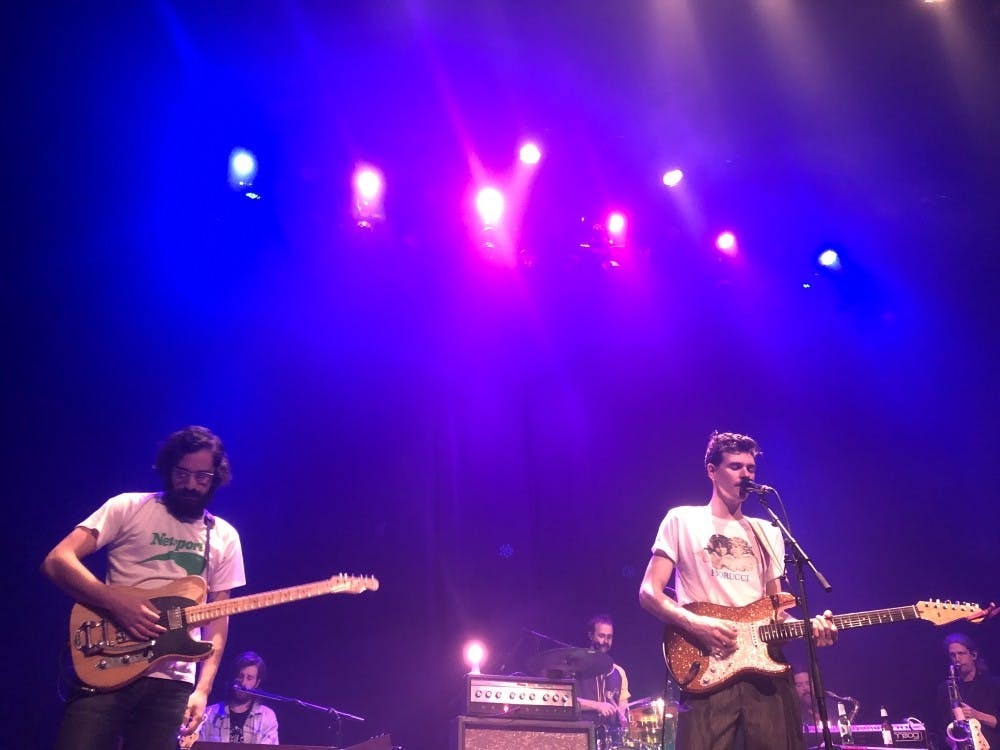 <p>Houndmouth played at the Jefferson Theater Feb. 22.</p>