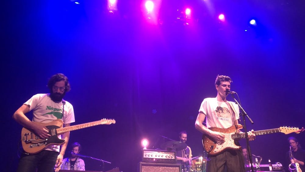 Houndmouth played at the Jefferson Theater Feb. 22.