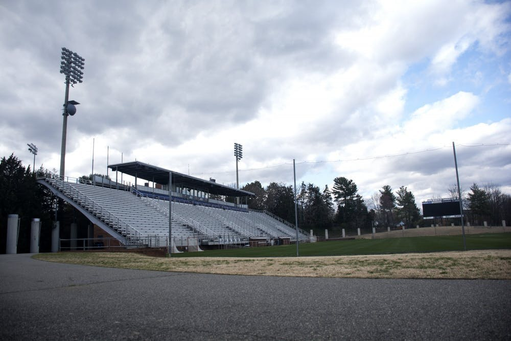 <p>Klockner Stadium, which can host up to 2,500 fans, will be limited to coaches and the families of student-athletes.</p>