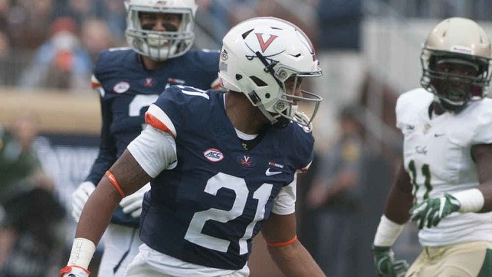 Junior strong safety Juan Thornhill and Virginia put on a strong defensive effort against Connecticut last weekend.